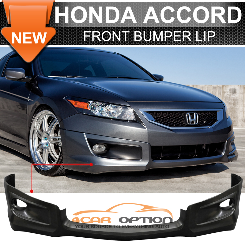 08-10 Honda Accord 2Dr Coupe Front Bumper Lip HFP-Style