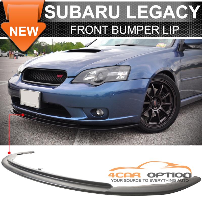 Fits 05-07 Subaru Legacy PU Front Bumper Lip JDM Euro