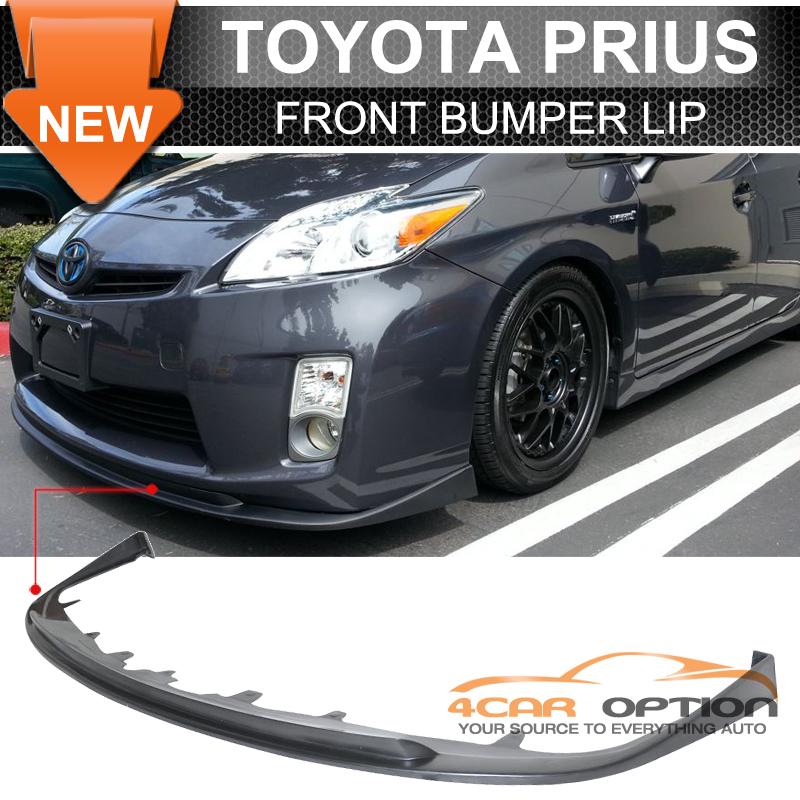 Fits 10 11 Toyota Prius Poly Urethane Pu Front Bumper Lip