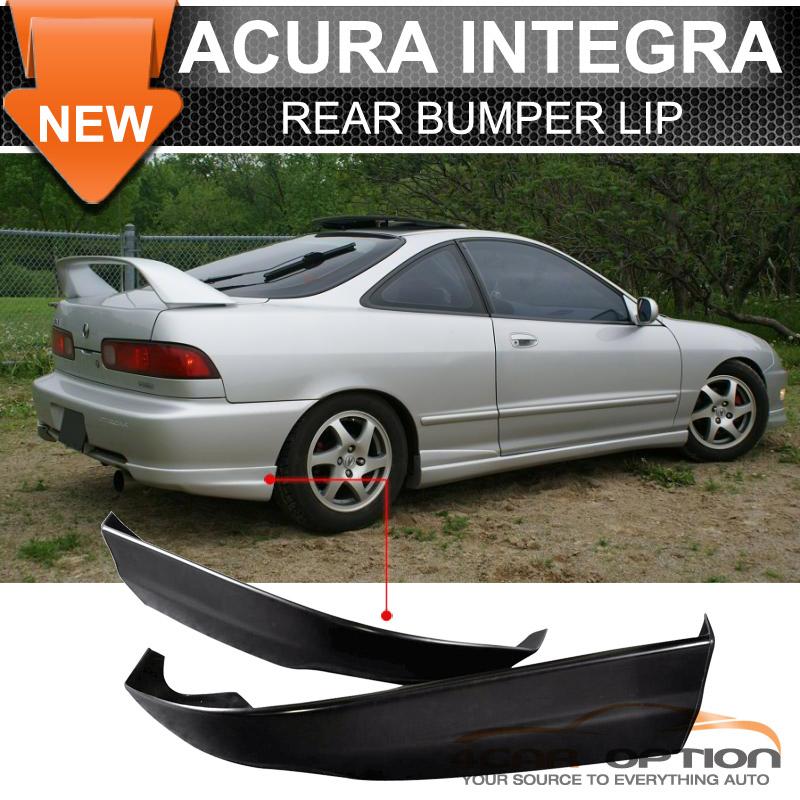 Fits Acura Integra TR Style Rear Bumper Lip Spoiler PU - Acura integra rear bumper