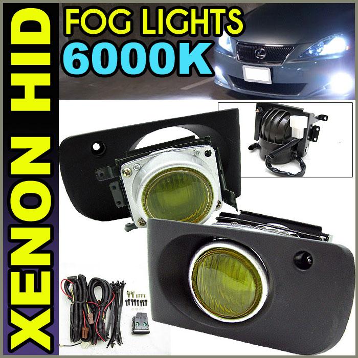 XENON 94-97 98-01 ACURA INTEGRA JDM YELLOW FOG LIGHTS