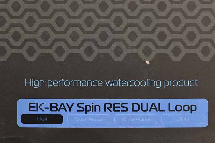 Details about NEW EK EK-BAY Spin RES DUAL Loop Plexi Bay Water Cooling  Reservoir Case