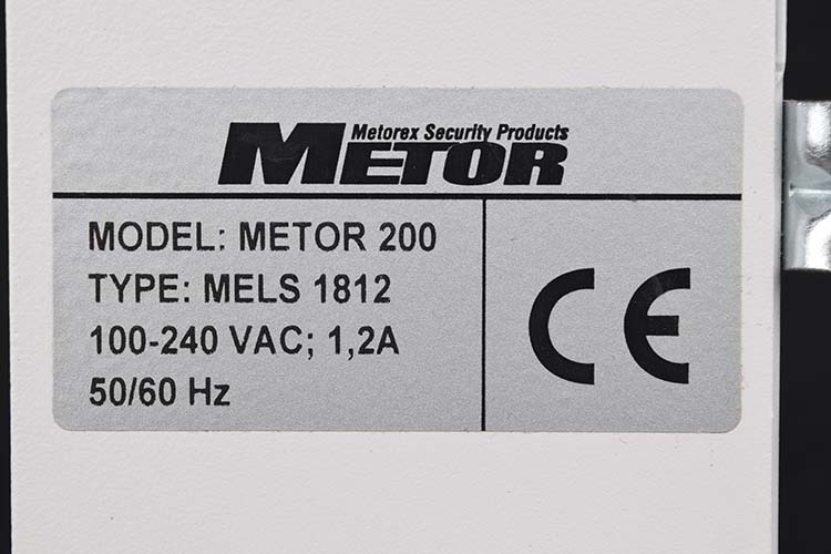 Details About Metorex MELS 1812 Metor 200 Security Metal Detector Controller Console Assembly