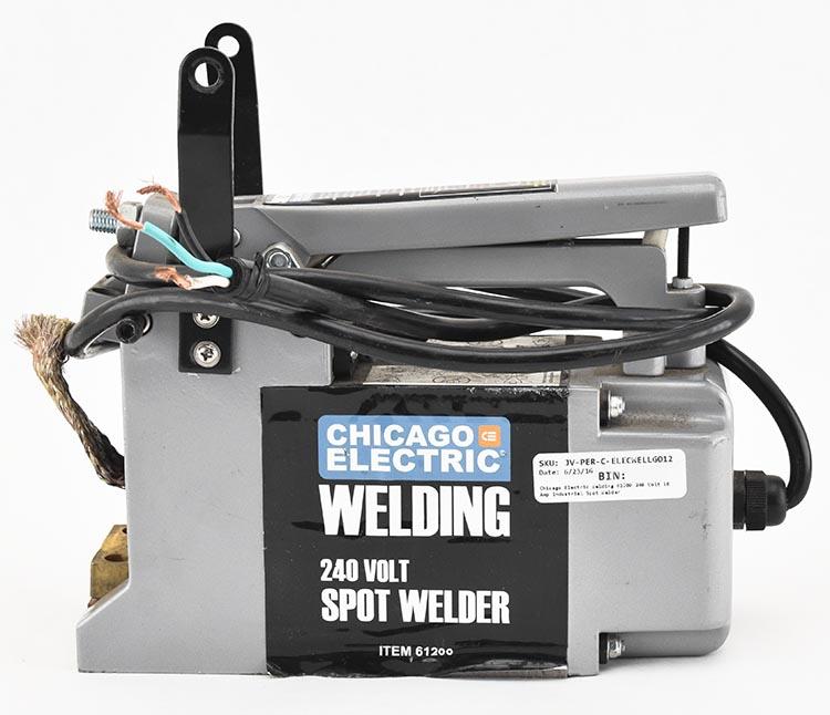 Chicago electric spot welder Manual