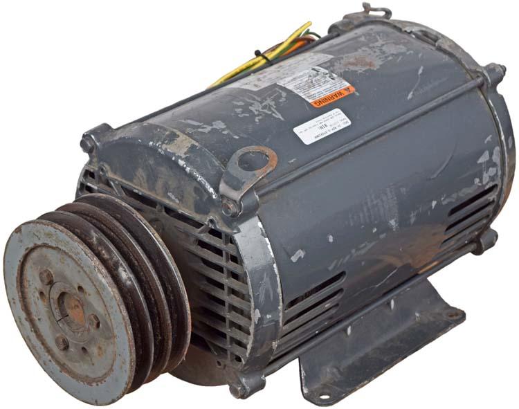 IIP Electric Motor 10HP 3525 RPM 60HZ 230//460V