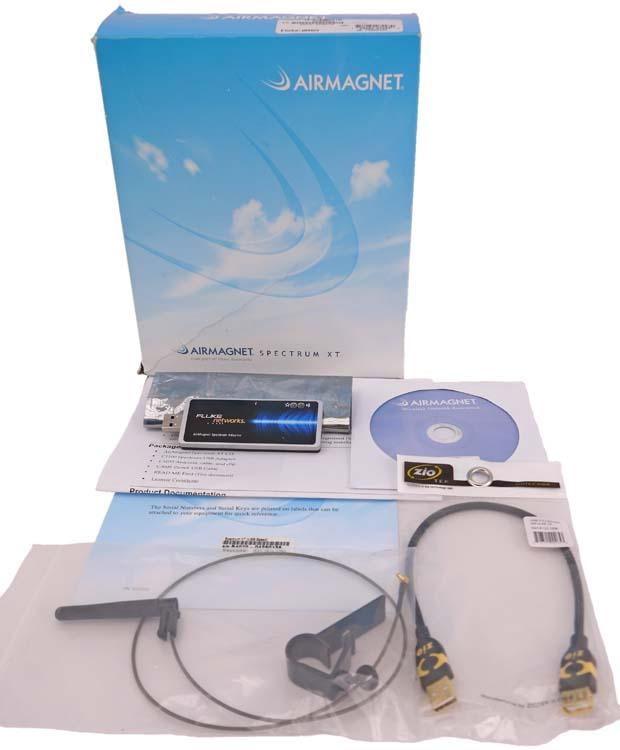 Airmagnet spectrum xt Manual
