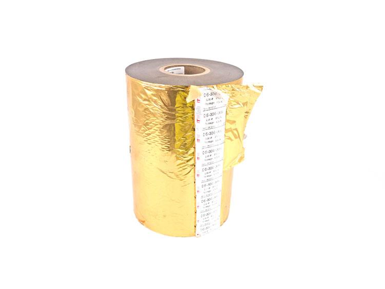 "8/"" Gold Hot Stamping Embossing Foil 600 ft Roll Dri-Print Foils"