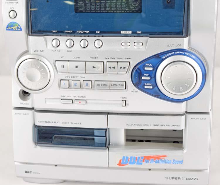aiwa cx naj20 stereo double cassette tape 3 disc cd player no rh ebay com Manuals in PDF aiwa cx-naj20 user manual