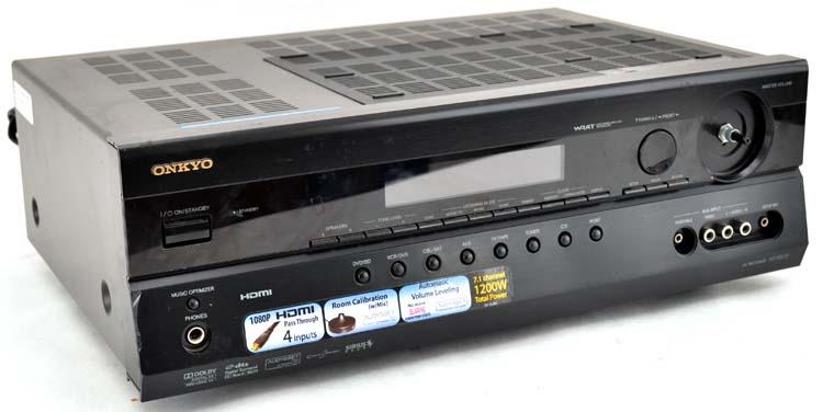onkyo ht r570 7 1 ch 1200w 1080p hdmi digital audio video home rh ebay com onkyo ht-r570 specs onkyo ht r560 manual pdf