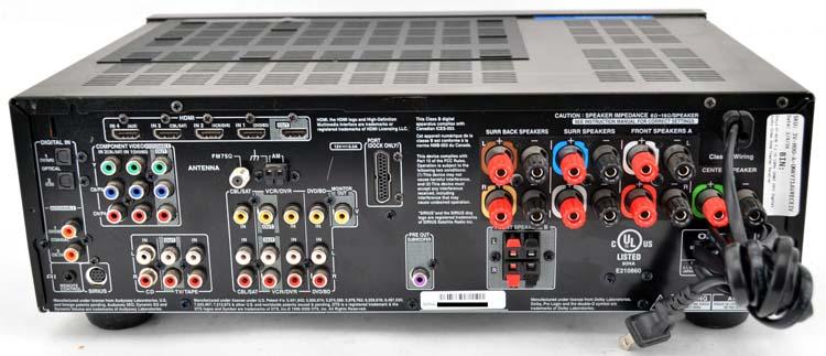 onkyo ht r570 7 1 ch 1200w 1080p hdmi digital audio video home rh ebay com onkyo ht r560 manual onkyo ht-r570 user manual