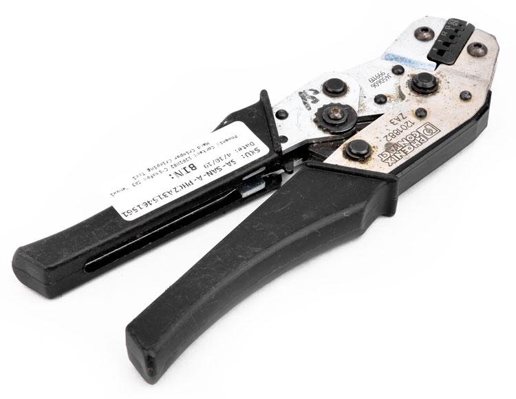 Details about  /Phoenix Contact Crimping tool crimper 1201882