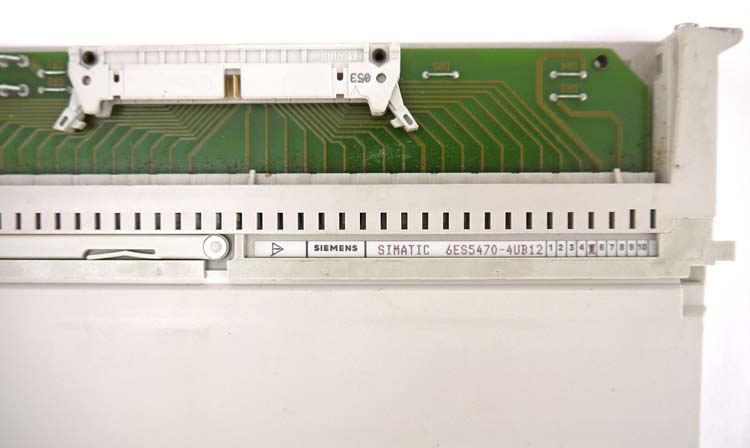 Siemens Simatic s5 6es5470-4ub12 6es 5470-4ub12 e-Stand 03 salida analógica-used