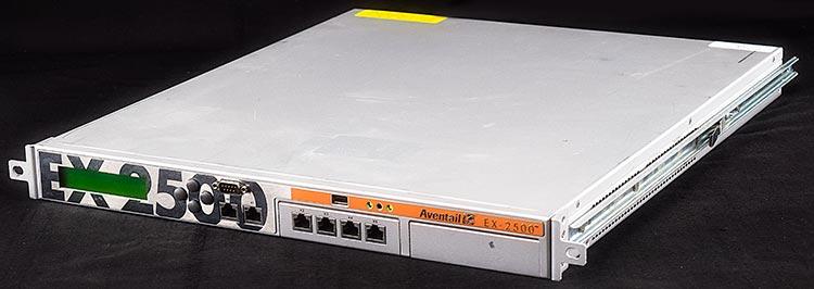 Aventail EX-2500 Enterprise Remote Access SSL VPN Network