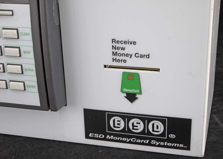 Esd Vtm Digital Atm Credit Card To Money Card Laundromat Value Transfer Machine Ebay