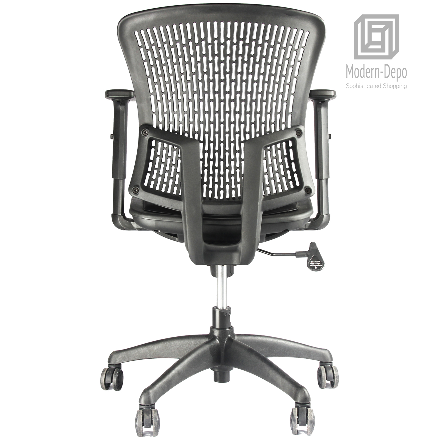 Home Office Chair Ergonomic Adjustable Comfort Mesh Mid