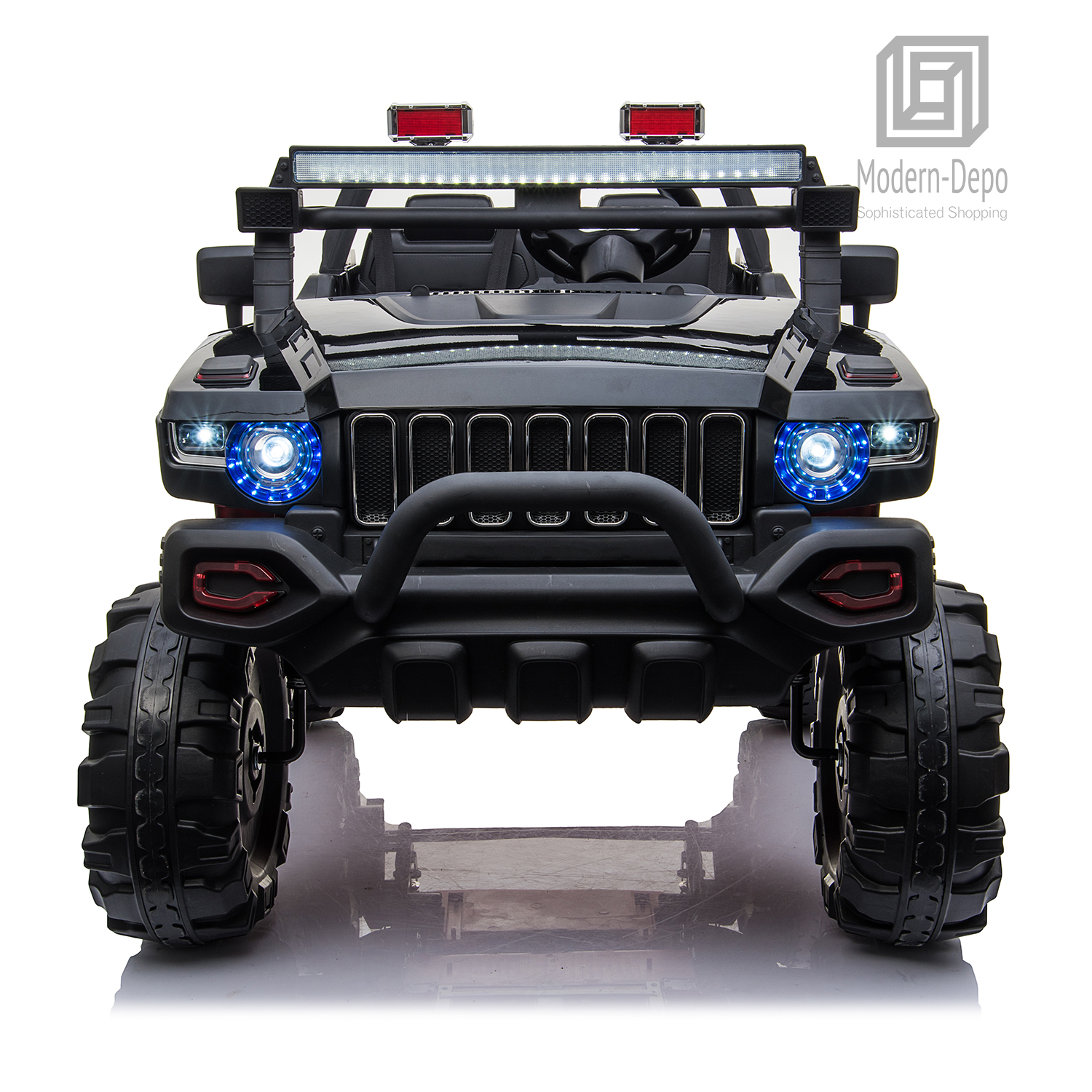 2-Seaters-4-4-Off-Road-Electric-12V-Ride-on-Car-with-Remote-Control miniature 17