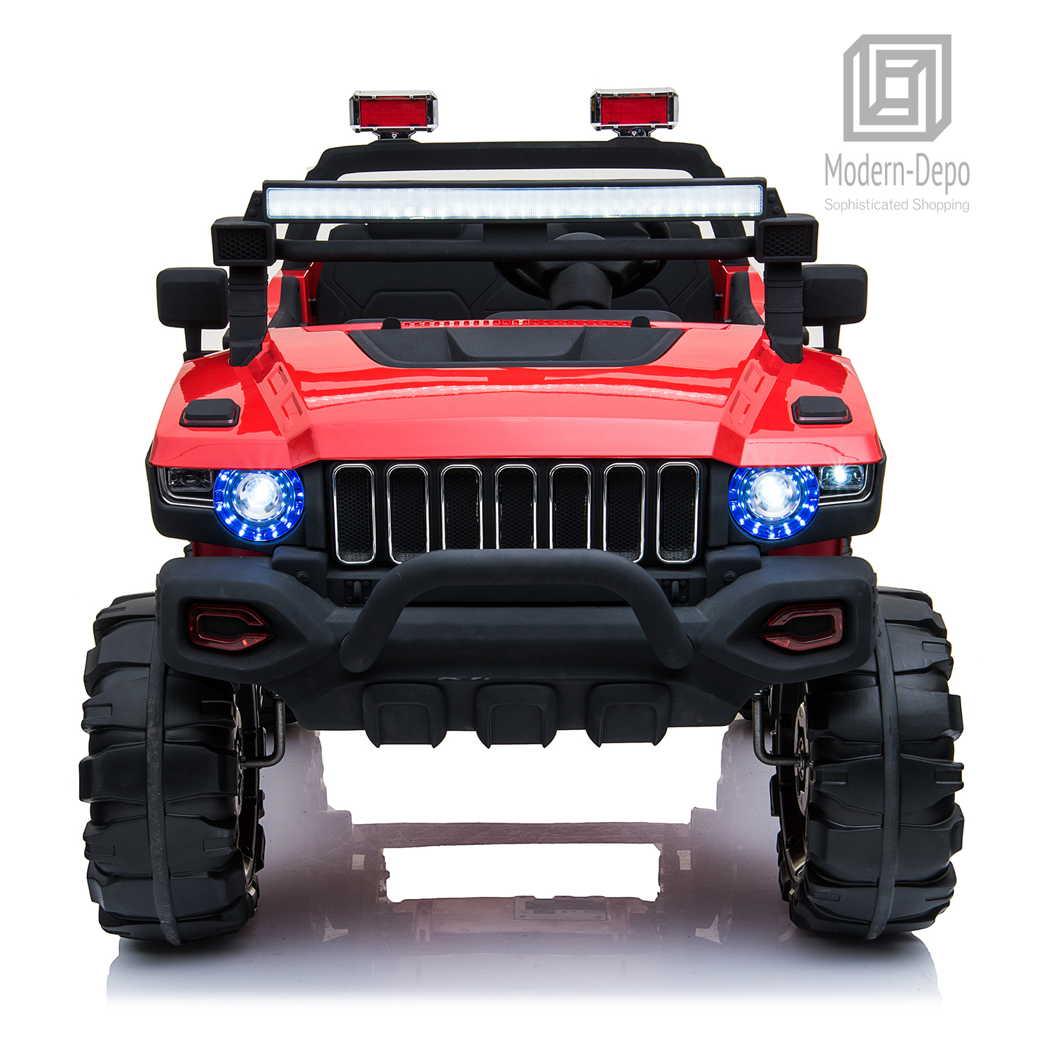 2-Seaters-4-4-Off-Road-Electric-12V-Ride-on-Car-with-Remote-Control miniature 26