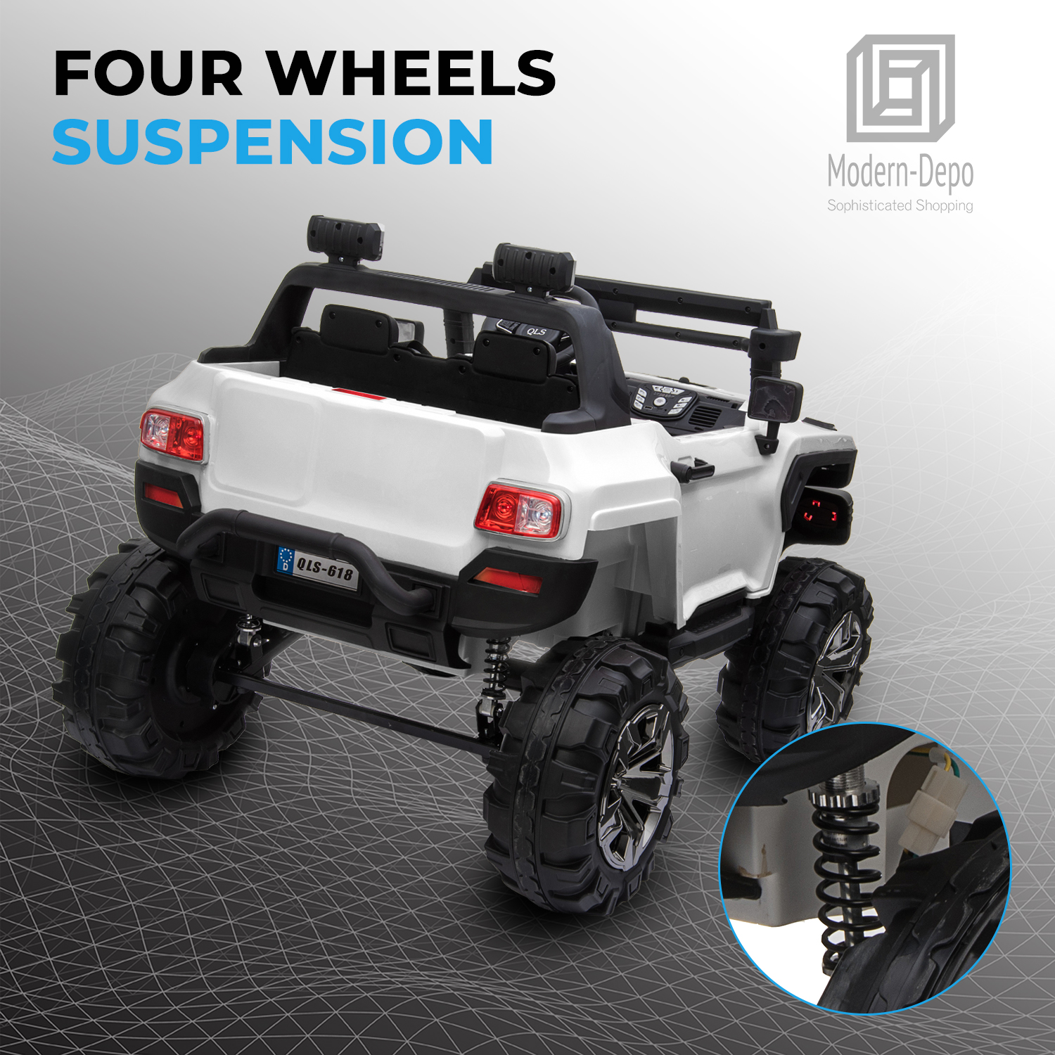 2-Seaters-4-4-Off-Road-Electric-12V-Ride-on-Car-with-Remote-Control miniature 33