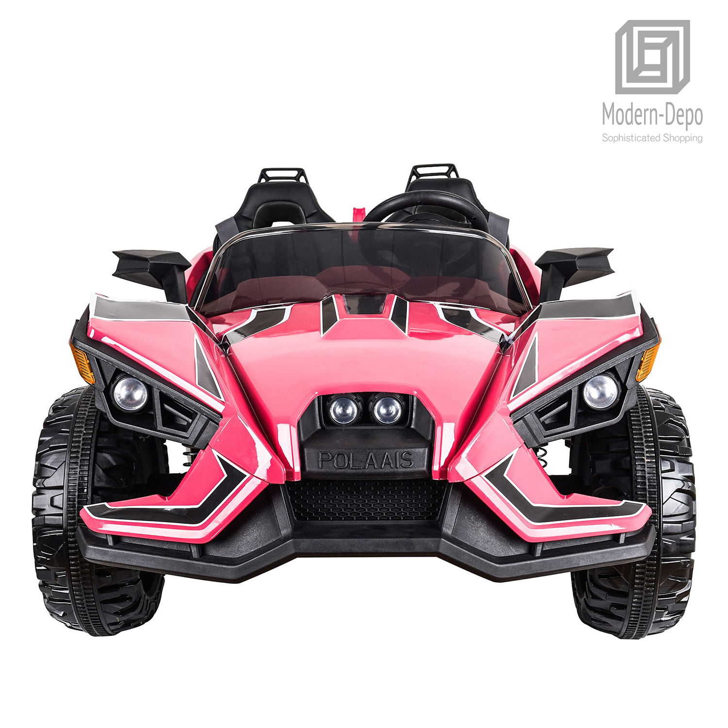 0d375909135 Details about 2 Seaters ATV Quad Racer Kids 12V Electric Ride-on Car with Remote  Control