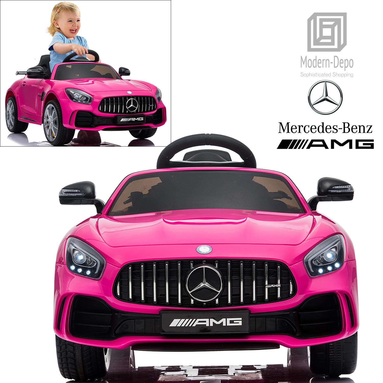 Mercedes Benz AMG GTR 12V Kids Electric Ride On Car W