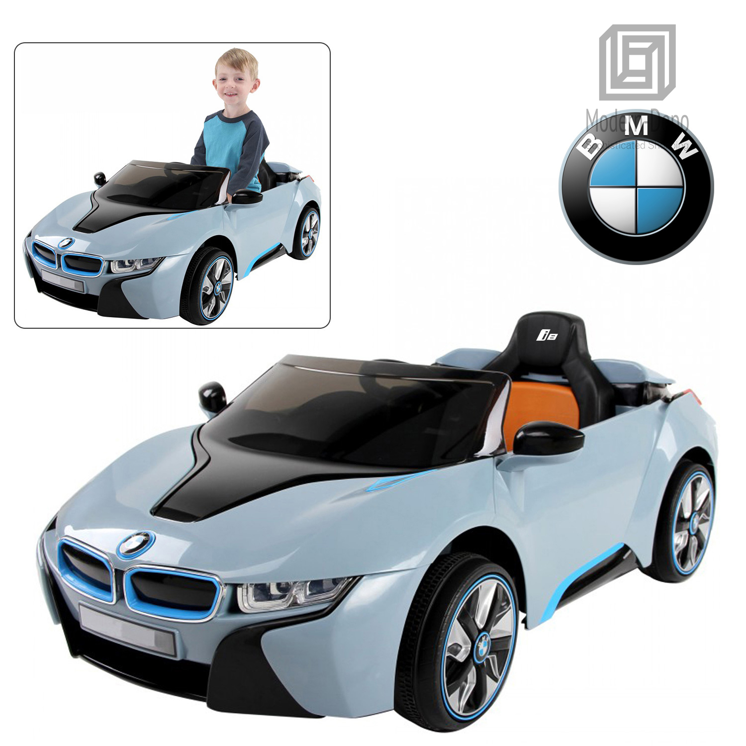 Licensed BMW I8 Kids Electric Ride On Car With Remote