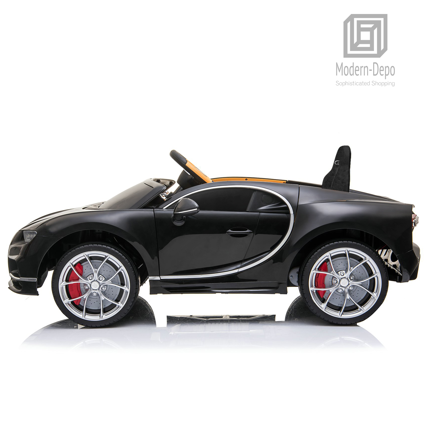 Bugatti-Chiron-12V-Kids-Ride-On-Car-with-Remote-Control-High-Speed-Motor miniature 10