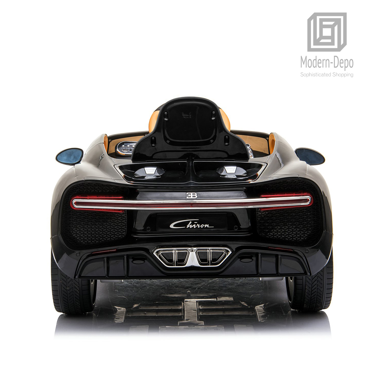 Bugatti-Chiron-12V-Kids-Ride-On-Car-with-Remote-Control-High-Speed-Motor miniature 12