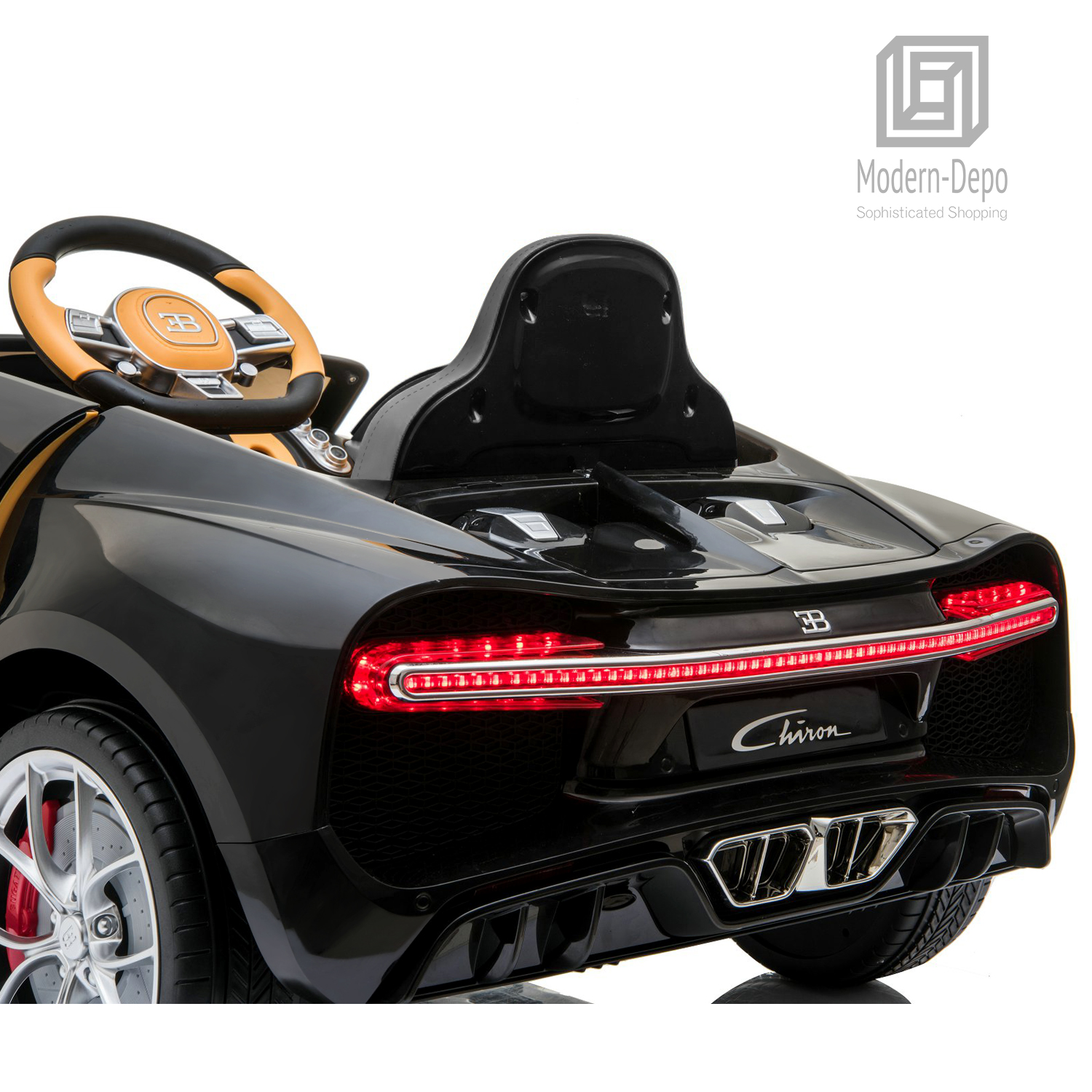 Bugatti-Chiron-12V-Kids-Ride-On-Car-with-Remote-Control-High-Speed-Motor miniature 13