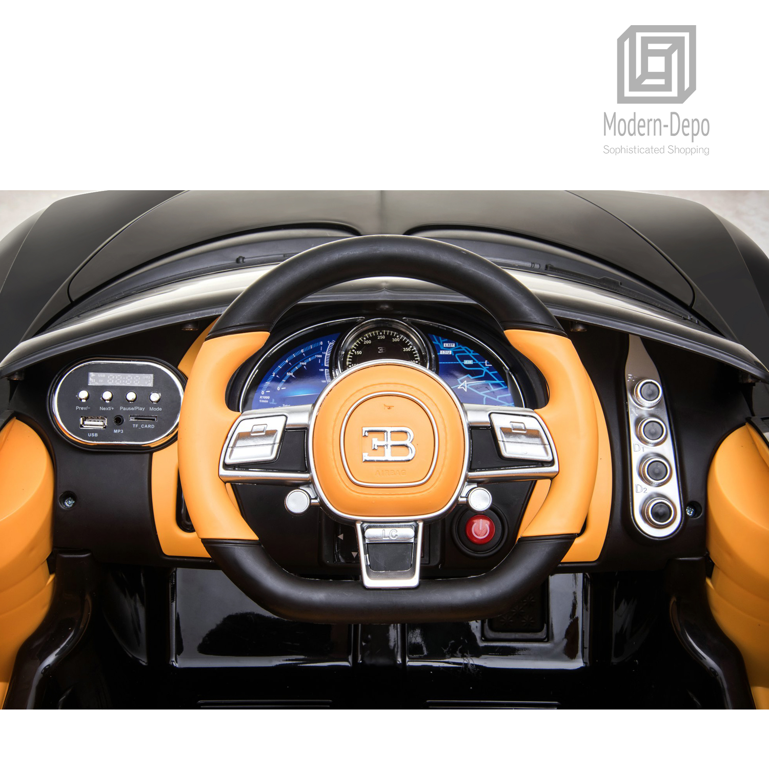 Bugatti-Chiron-12V-Kids-Ride-On-Car-with-Remote-Control-High-Speed-Motor miniature 14