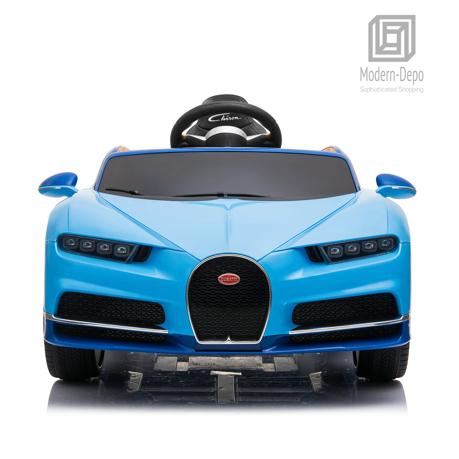Bugatti-Chiron-12V-Kids-Ride-On-Car-with-Remote-Control-High-Speed-Motor miniature 16
