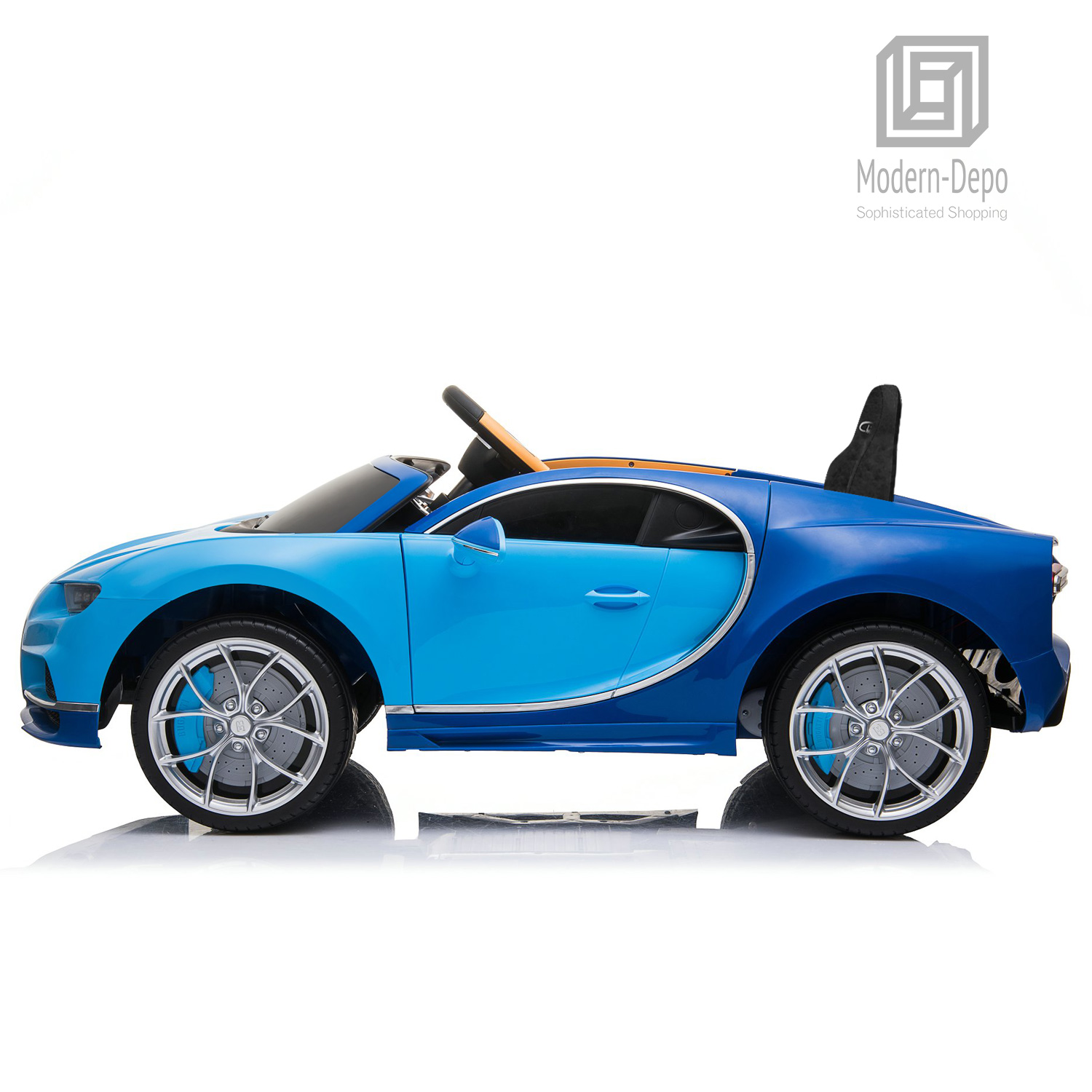 Bugatti-Chiron-12V-Kids-Ride-On-Car-with-Remote-Control-High-Speed-Motor miniature 17