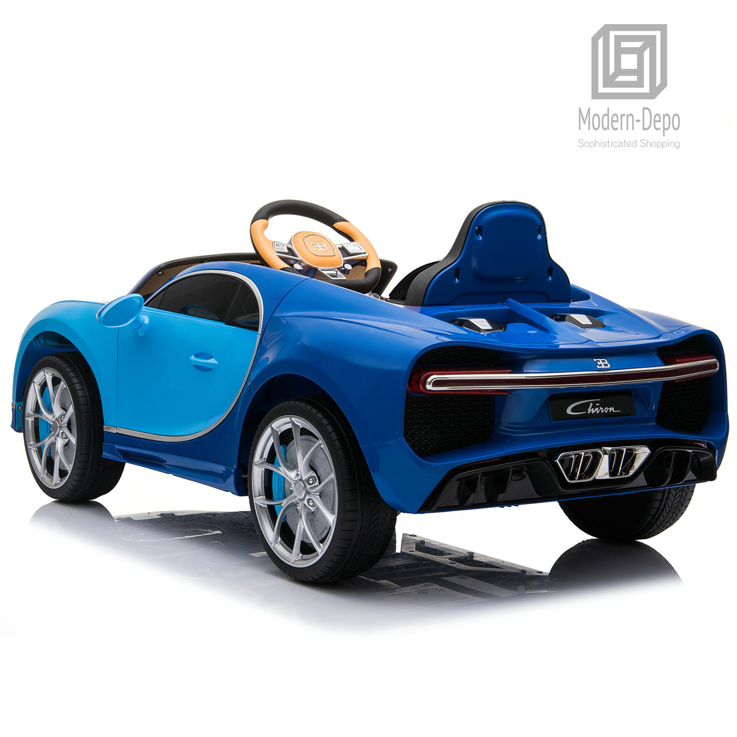 Bugatti-Chiron-12V-Kids-Ride-On-Car-with-Remote-Control-High-Speed-Motor miniature 18