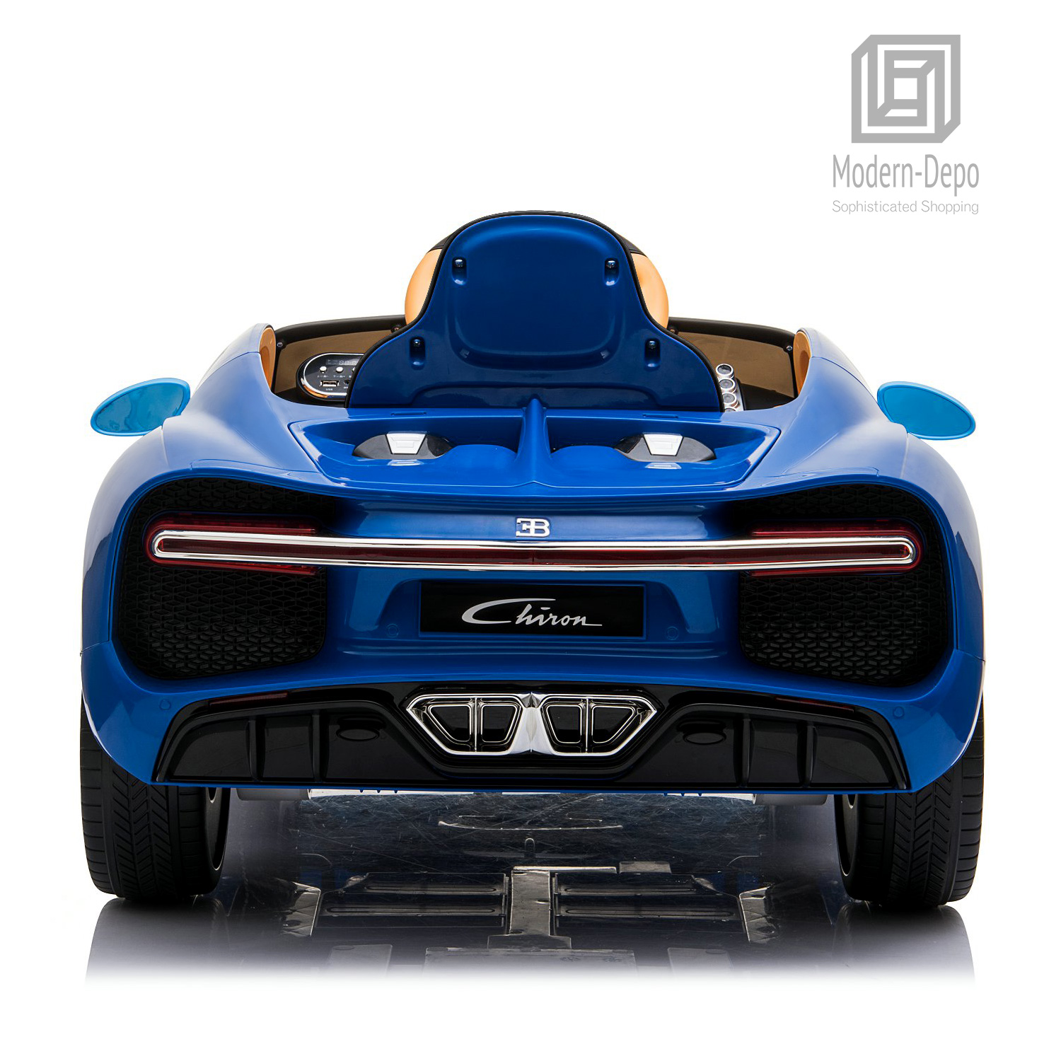 Bugatti-Chiron-12V-Kids-Ride-On-Car-with-Remote-Control-High-Speed-Motor miniature 19