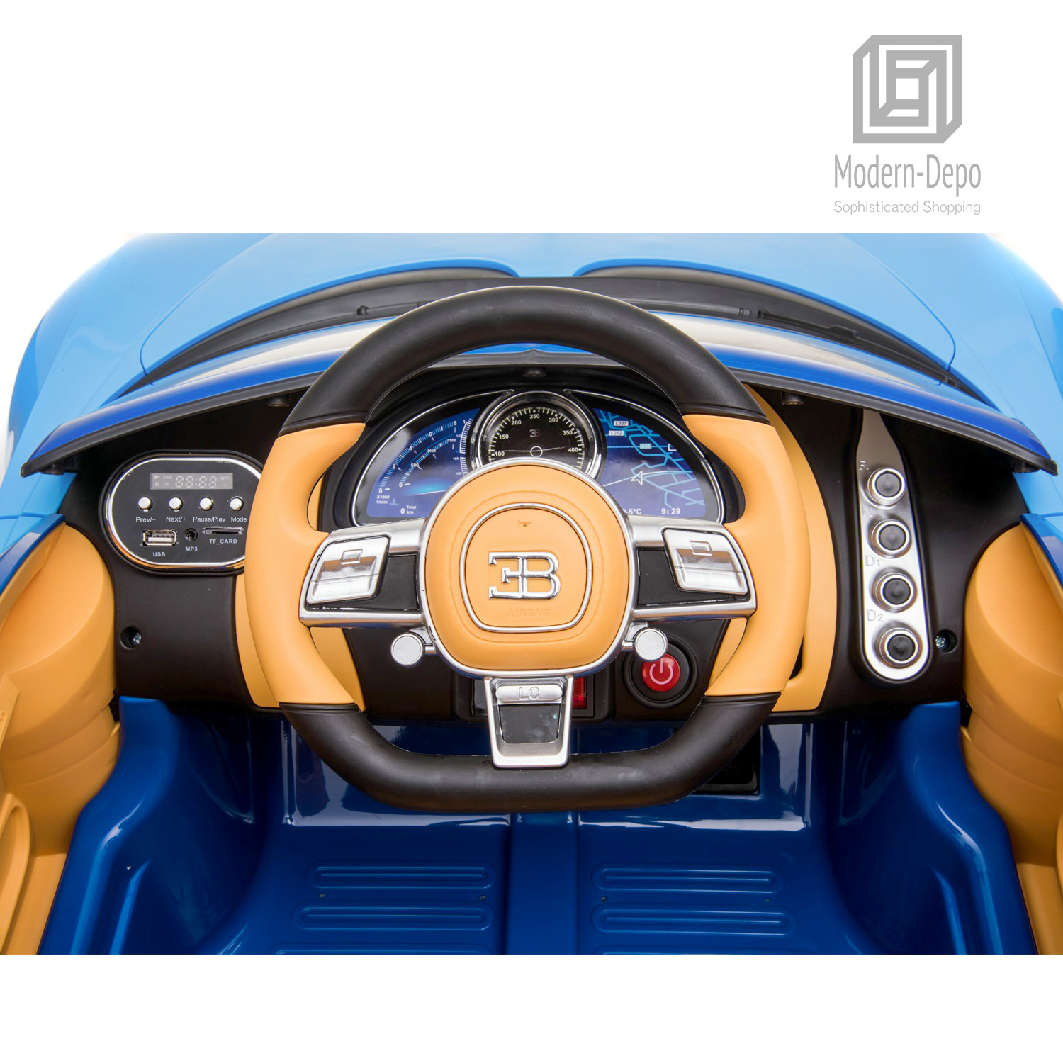 Bugatti-Chiron-12V-Kids-Ride-On-Car-with-Remote-Control-High-Speed-Motor miniature 21