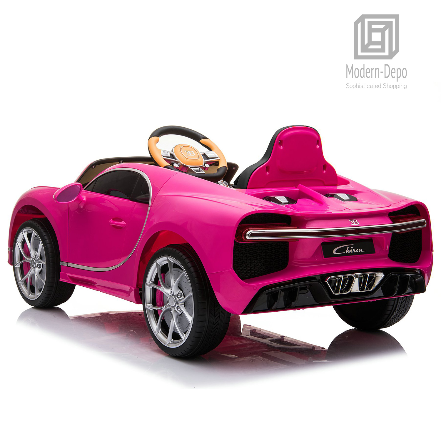 Bugatti-Chiron-12V-Kids-Ride-On-Car-with-Remote-Control-High-Speed-Motor miniature 25