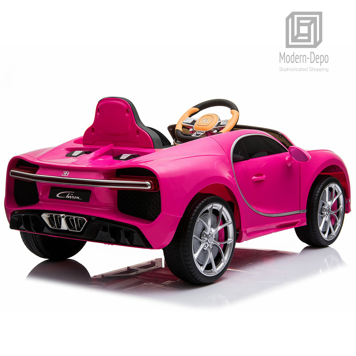 Bugatti-Chiron-12V-Kids-Ride-On-Car-with-Remote-Control-High-Speed-Motor miniature 27