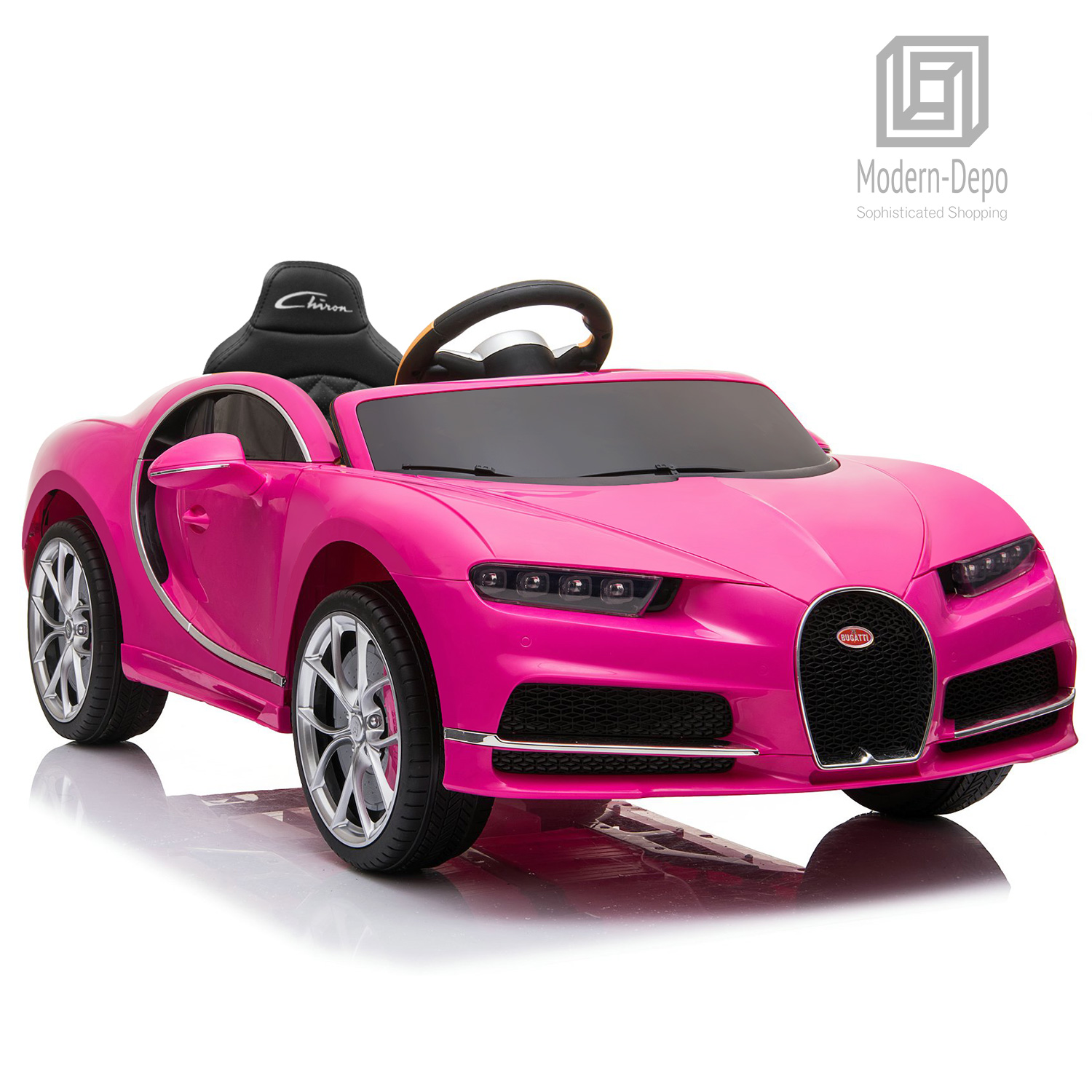 Bugatti-Chiron-12V-Kids-Ride-On-Car-with-Remote-Control-High-Speed-Motor miniature 28