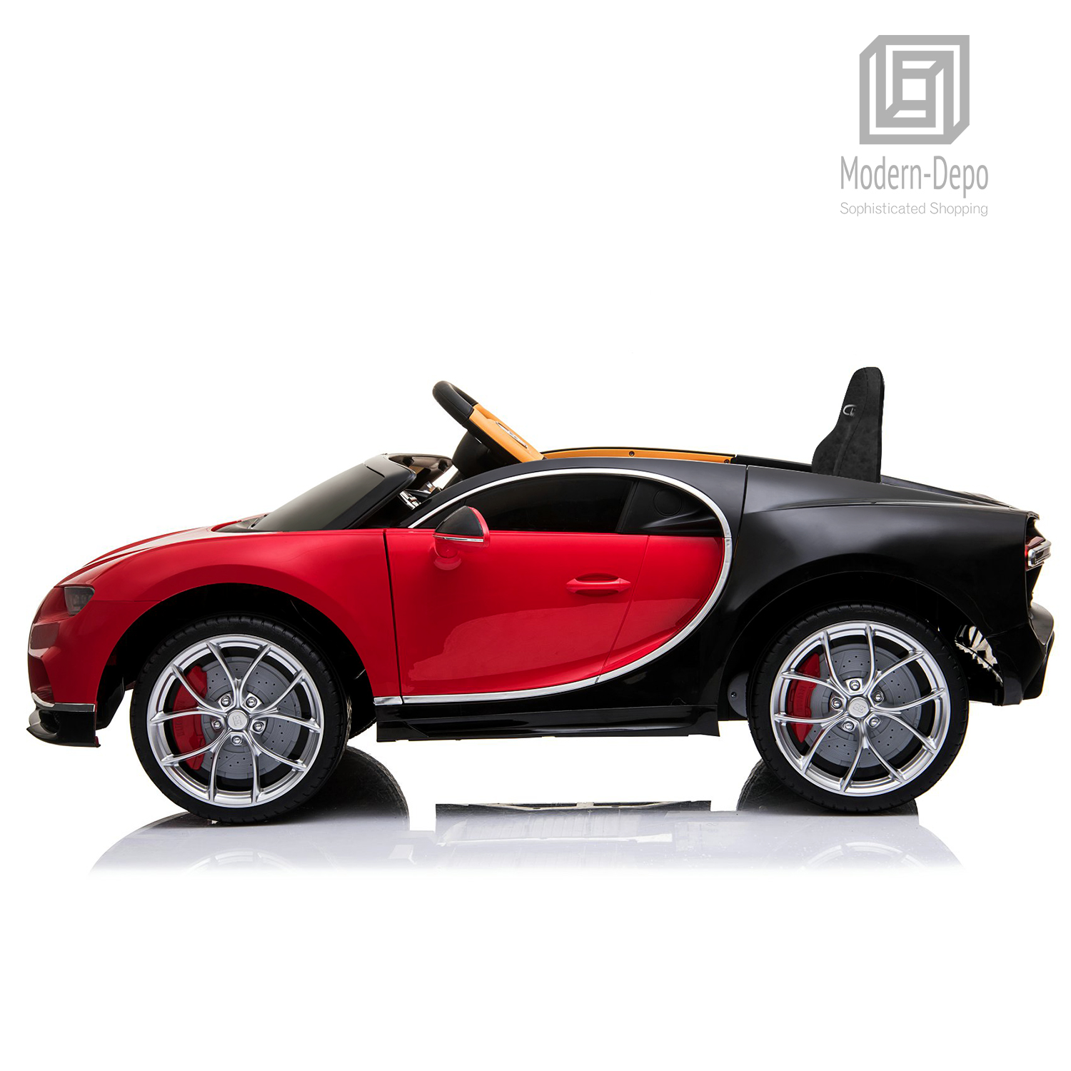 Bugatti-Chiron-12V-Kids-Ride-On-Car-with-Remote-Control-High-Speed-Motor miniature 31