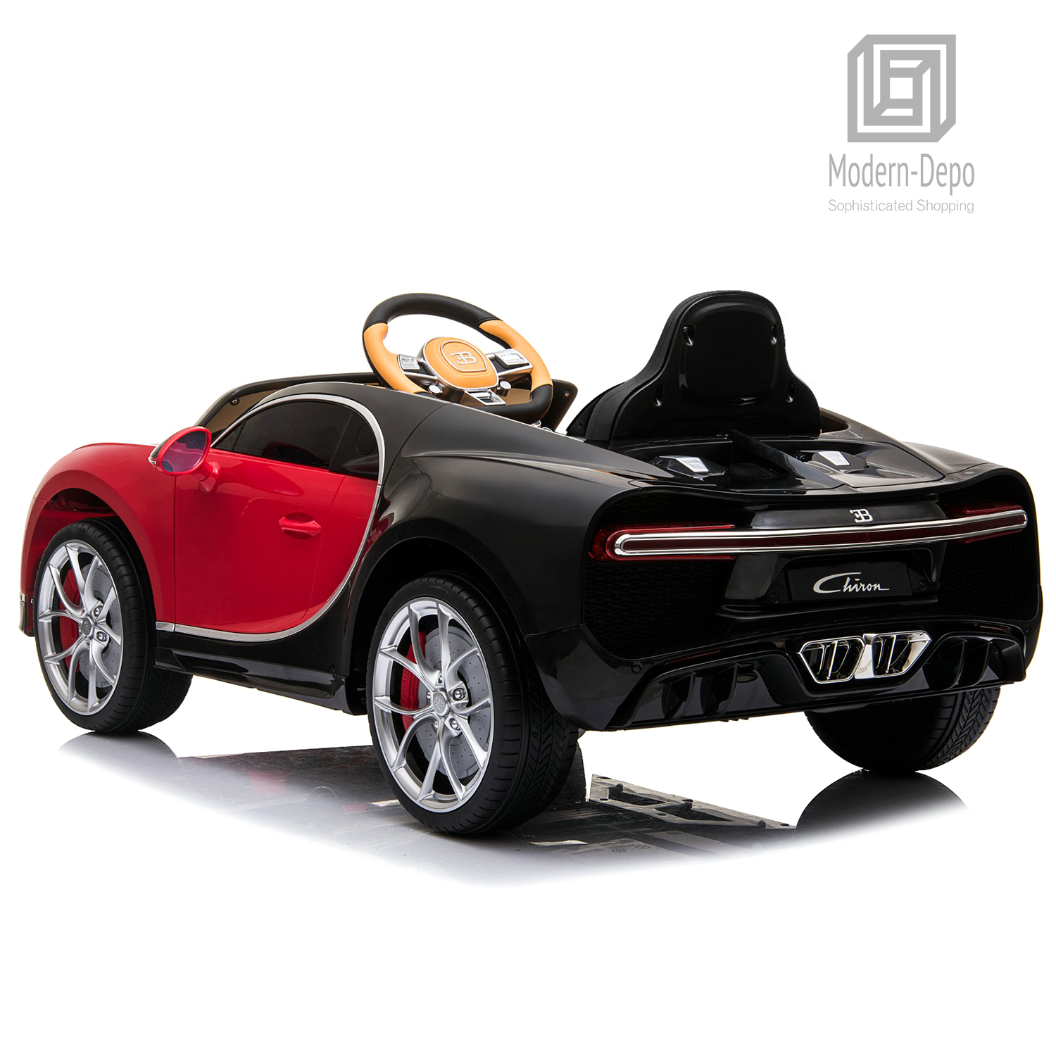 Bugatti-Chiron-12V-Kids-Ride-On-Car-with-Remote-Control-High-Speed-Motor miniature 32
