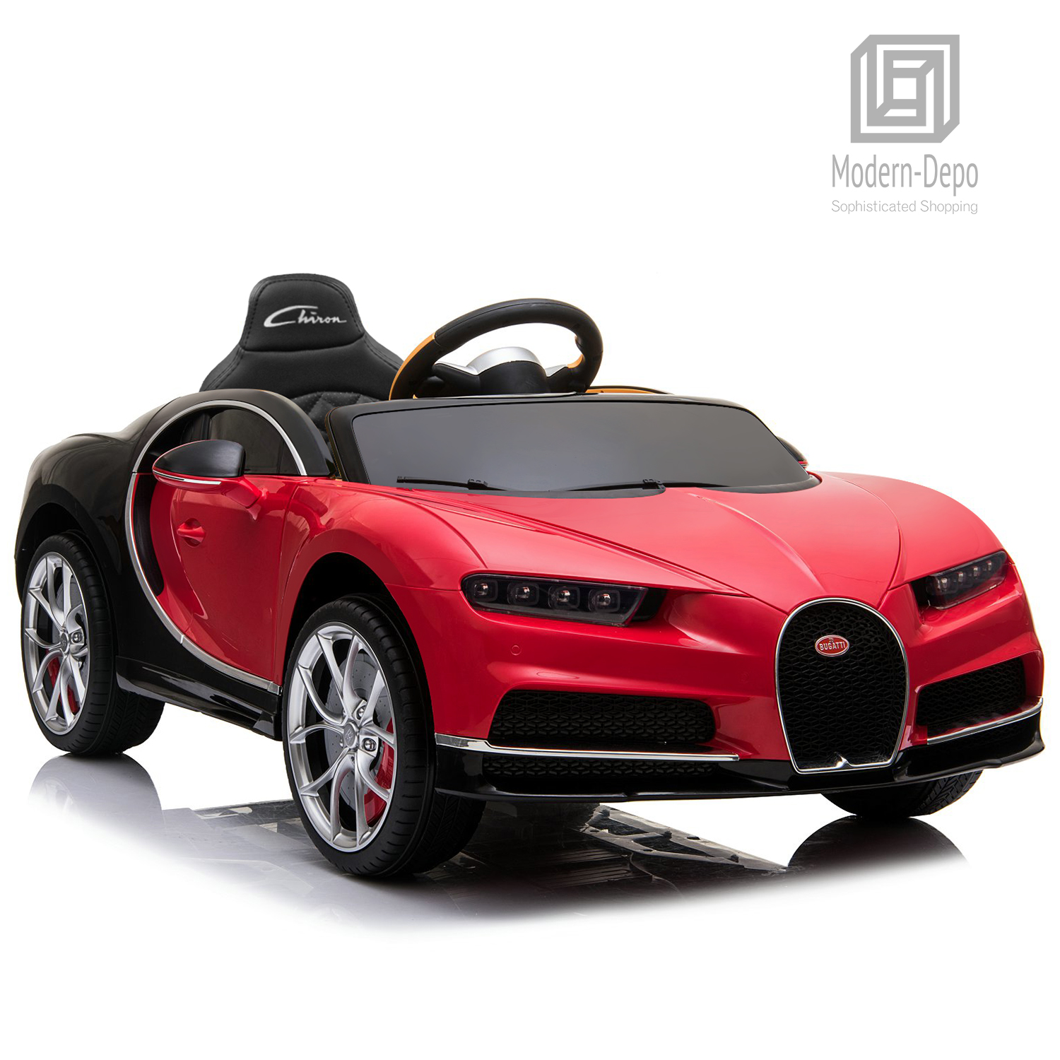 Bugatti-Chiron-12V-Kids-Ride-On-Car-with-Remote-Control-High-Speed-Motor miniature 35