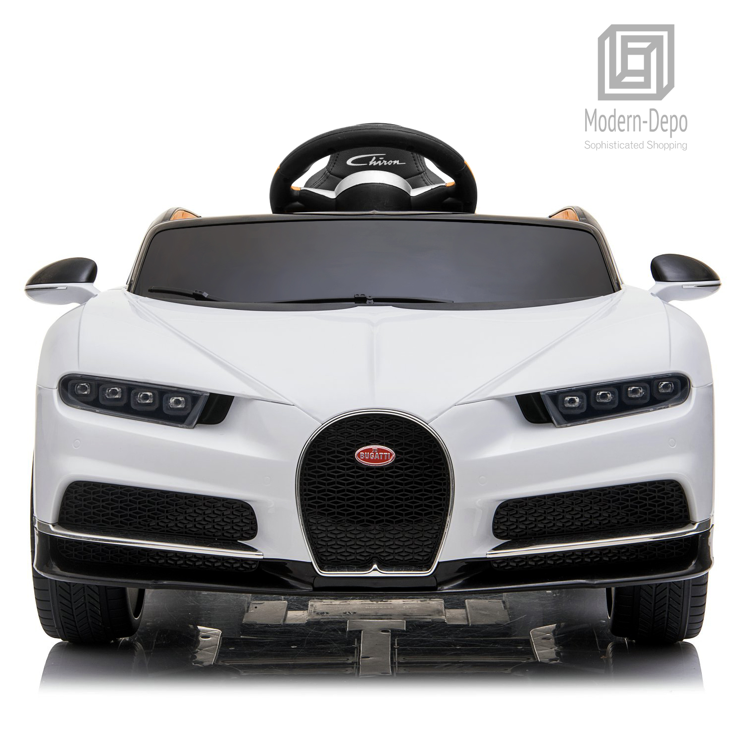 Bugatti-Chiron-12V-Kids-Ride-On-Car-with-Remote-Control-High-Speed-Motor miniature 37