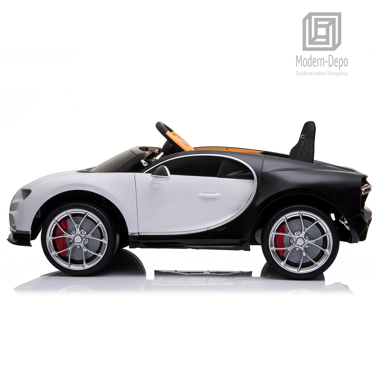 Bugatti-Chiron-12V-Kids-Ride-On-Car-with-Remote-Control-High-Speed-Motor miniature 38