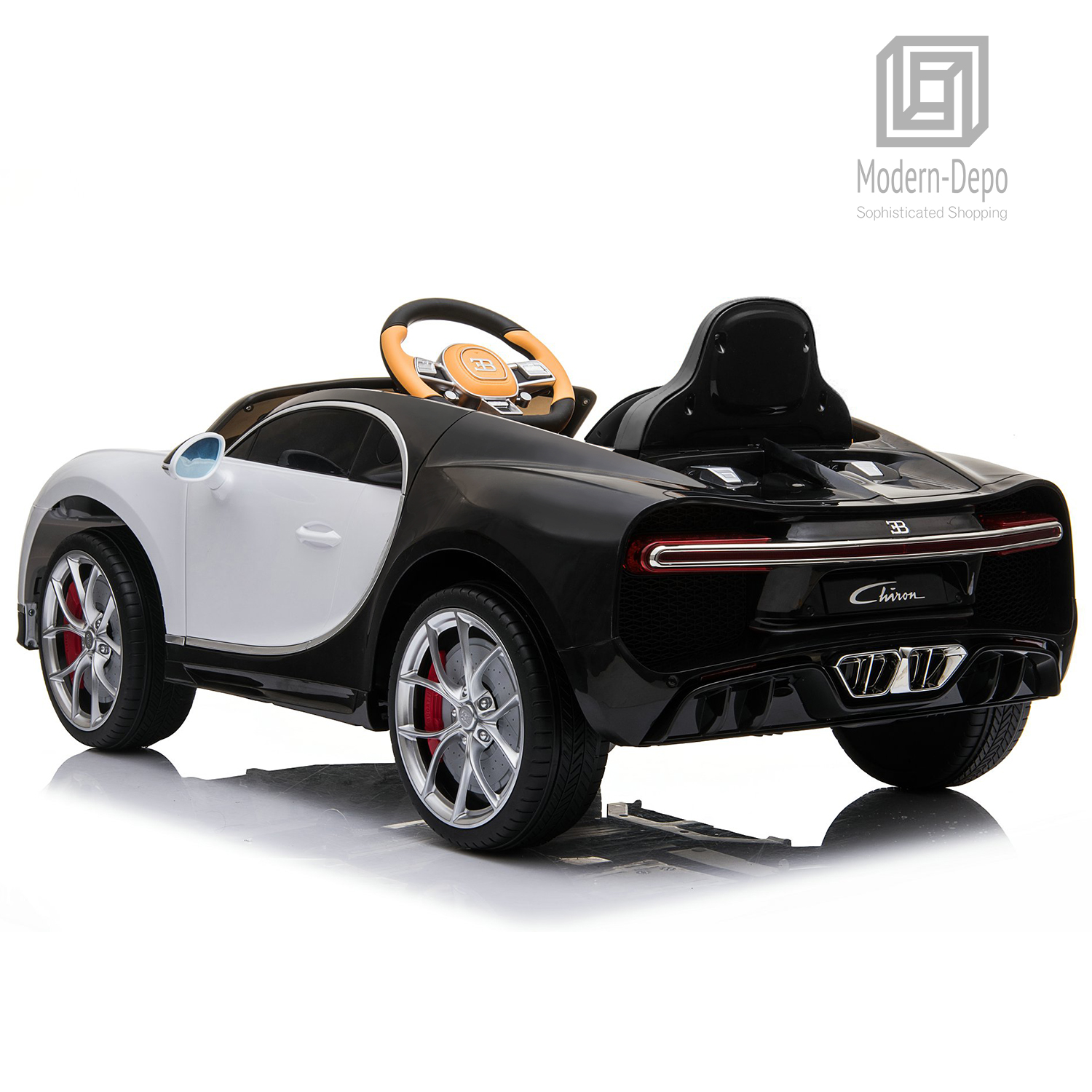 Bugatti-Chiron-12V-Kids-Ride-On-Car-with-Remote-Control-High-Speed-Motor miniature 39