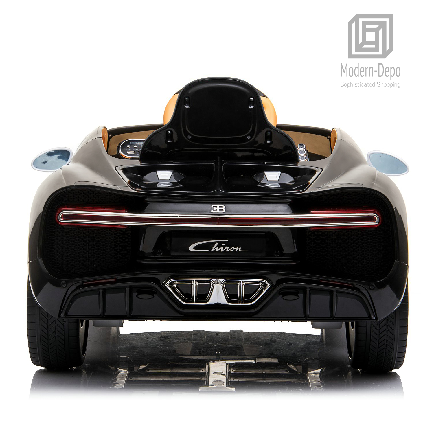 Bugatti-Chiron-12V-Kids-Ride-On-Car-with-Remote-Control-High-Speed-Motor miniature 40