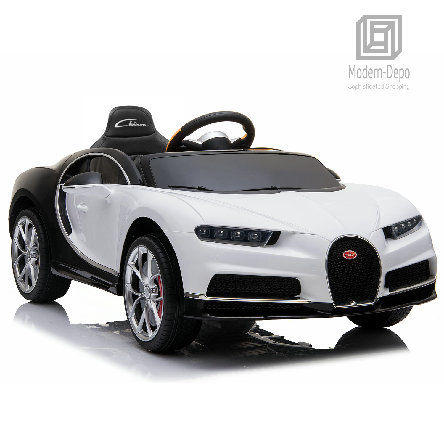 Bugatti-Chiron-12V-Kids-Ride-On-Car-with-Remote-Control-High-Speed-Motor miniature 42