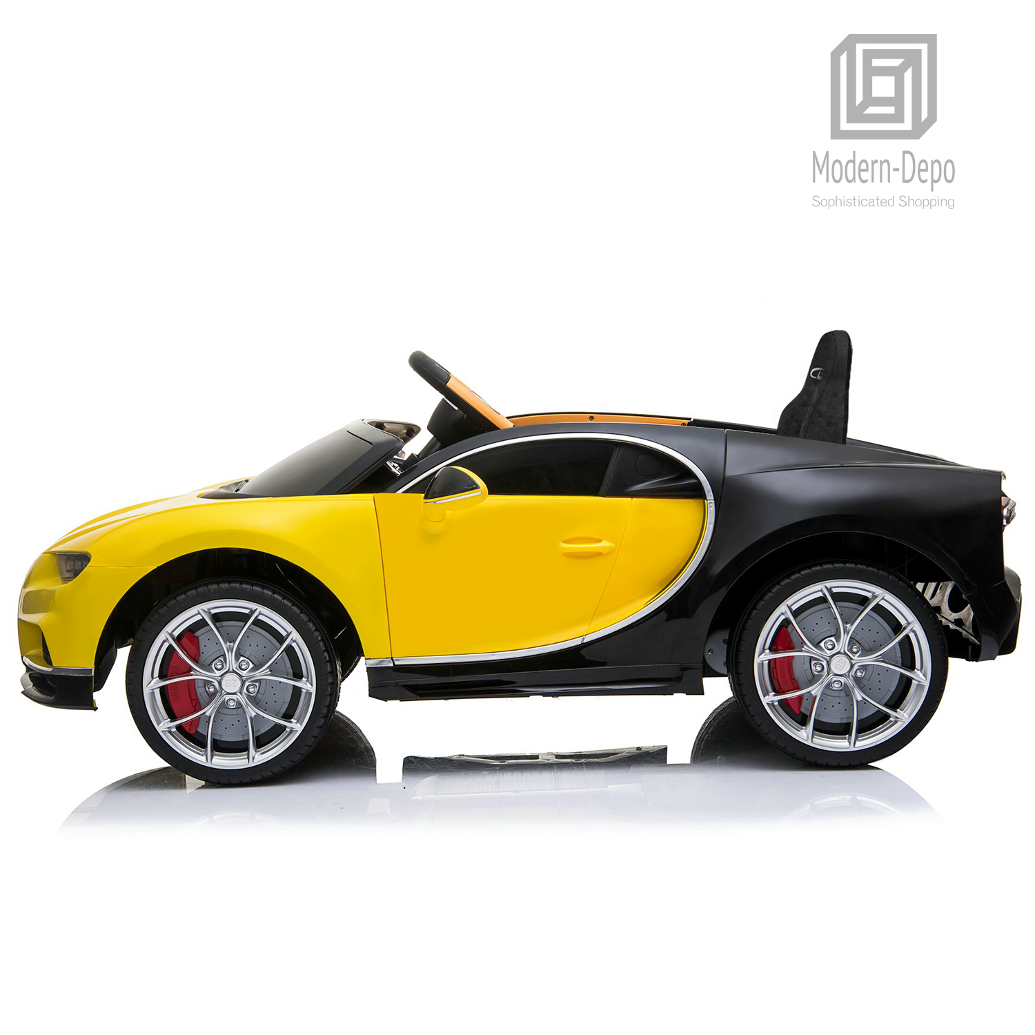 Bugatti-Chiron-12V-Kids-Ride-On-Car-with-Remote-Control-High-Speed-Motor miniature 45