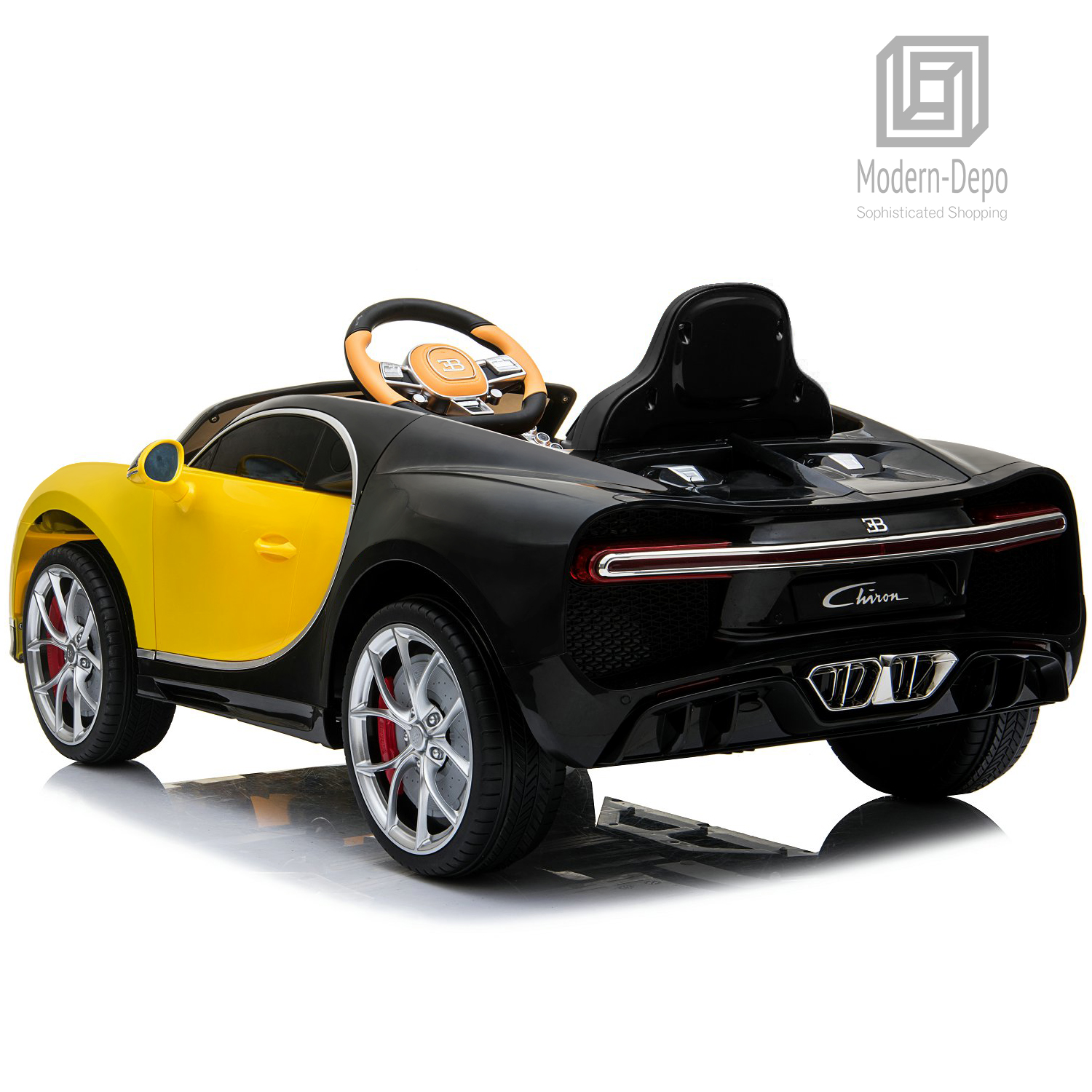 Bugatti-Chiron-12V-Kids-Ride-On-Car-with-Remote-Control-High-Speed-Motor miniature 46