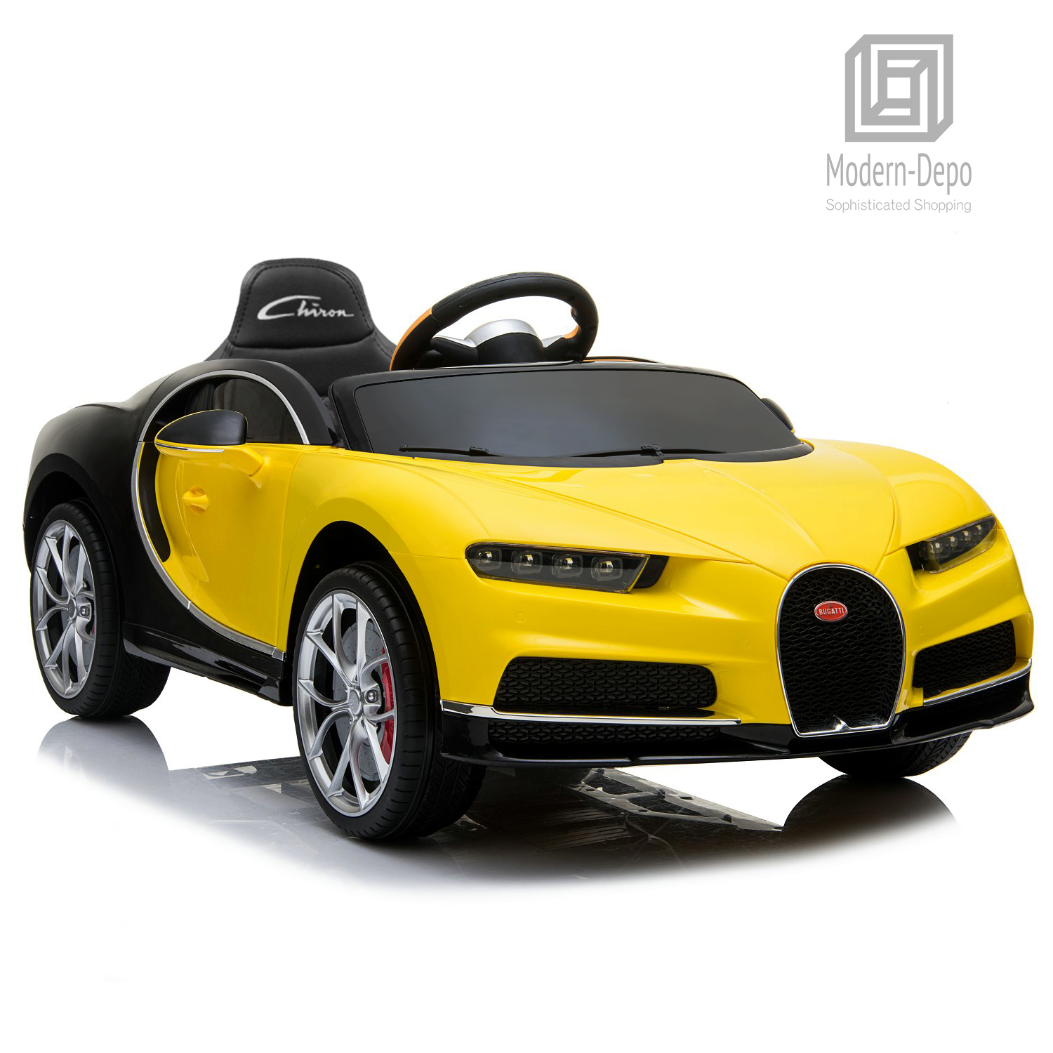 Bugatti-Chiron-12V-Kids-Ride-On-Car-with-Remote-Control-High-Speed-Motor miniature 49