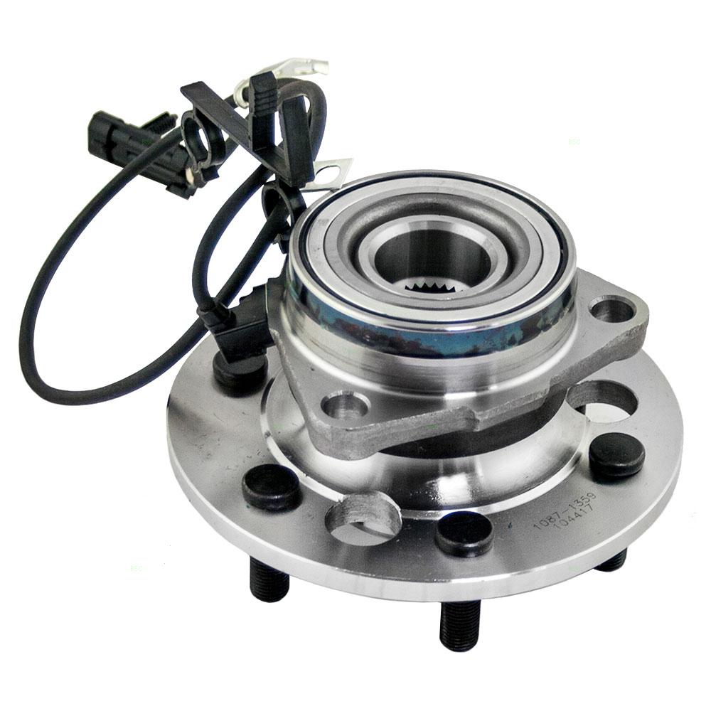 New Front Wheel Hub Bearing Assembly 4WD w ABS Sensor Chevy GMC Pickup SUV
