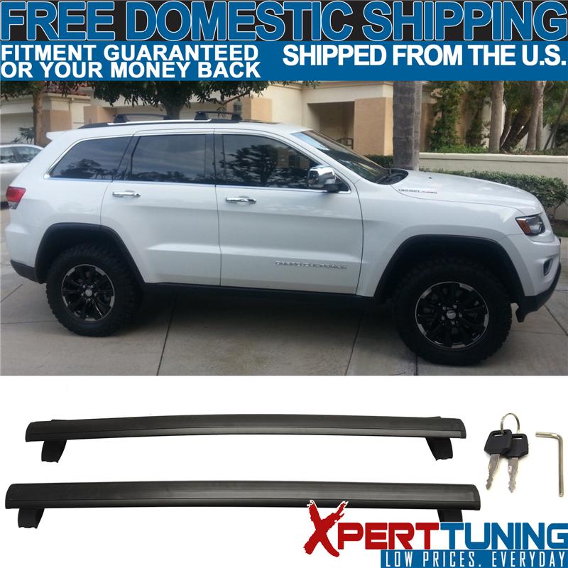 Fit 11-18 Jeep Grand Cherokee OE Style Top Roof Rack Cross Bar Crossbar Lock Key